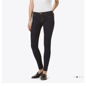 J brand skinny leg mid-rise jean